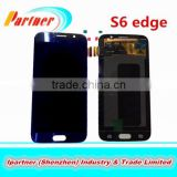 Rose Gold, Gold, Blue , white S6 edge G925 for samsung galaxy original lcd digitizer assembly 4 colors
