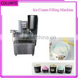Henan Colunte Rotary type tube cup filling machine and sealing for smoothie ice cream                                                                         Quality Choice