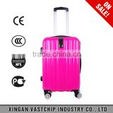 Big Sale Custom Made Wheels Suitcase Hard Waterproof blue attractive luggage/beauty hardside case/easy traveling set