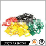 Name Key Tags Split Ring Key Tags 5 Style ID Label Keychain Plastic Keychain