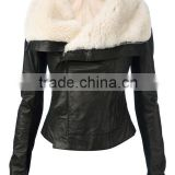 Shearling Leather Jacket Sheared Sheep Fur Leather Coat Ladies Sheepskin Upper WHOLESALE COAT JACKET CHINA KOREA JAPAN