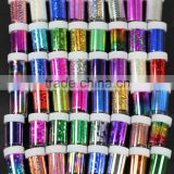 Newest 48 colors Nail Art Transfer Craft foil Fashion DIY nail sticker Tip