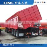 30T,40T,50T 3 Axles Side Tipper Trailer