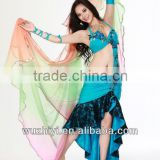 2014 belly dance mermaid dresses, belly dance wear for girl arabic carnival stage performance wear China Wuchieal QC2072                                                                         Quality Choice