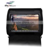 9 inch touch screen dvd player for car with remote control , portable dvd player with bluetooth
