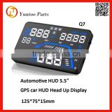 led digital GPS car HUD Head Up Display for car system speedometer