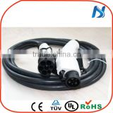 SAE J1772 to IEC 62196 EV connector type 1 to type 2 ev cable 16A 32A ev charger