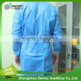 Disposable Hospital Non woven Fabric SMS For Medical Surgical Gowns anti plasma surgical gown