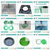 Hot Sale customized any color Square various shapes SMC/BMC/FRP/GRP round tree grates and flower pots 's smc manhole Cover