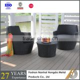 poly rattan garden furniture with SGS testing