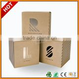 paper box with clear lid ,paper box with button ,paper box with brand names logos