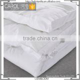 high quality soft white hotel use mattress protector pad