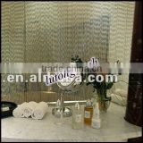 304 stainless steel ball chain shower curtain
