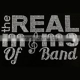 The Real Moms of Band custom rhinestone transfer