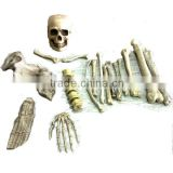Halloween 14pcs skeleton bones in a mash bag Halloween Decoration