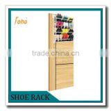 4 layers Customized cheap beauty supply store shelf for shoes