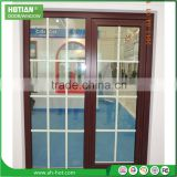 Aluminum Frame Tempered Glass Window And Door Fashion Aluminum Sliding Window Grill Design