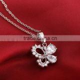 four leaves lucky clover pendant necklace (AM-D0368)