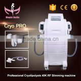 Factory Cryo Slimming Massager Machine RF Cavitation Wrinkle Removal Machine for Sale