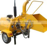 CE certificate Hydraulic feeding 30hp 40HP 50HP Diesel engine Mobile Wood Chipper for sale