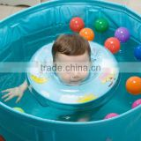 China inflatable manufacturer cheap plastic pvc inflatable baby neck swim ring float swiming pool acessories for 0.5-3 years old