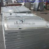 transportation trailer water and milk tank trailer