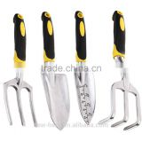 4 Piece Softouch Garden Tool Set Ergonomic Gardening Tool Set - Made from high quality anti-corrosion aluminium