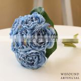 WF1301 artificial rose flower bouquet wedding decorations handmade bridal bouquet