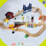 wholesale children wooden train track educational wooden train track popular wooden train track W04C016