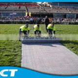 Foldable Plastic Protection Floor For Football Pitch Artificial Turf grass - Greenex