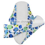 OEM Super Absorbent, Soft,Safe, Waterproof,resuable polar fleece inner cloth menstrual pad