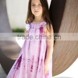 cotton baby rompers Toddlers tye dye dress wholesale baby clothes