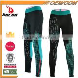 BEROY custom women 's yoga\gym\running long sleeve pants, Jogger Pants