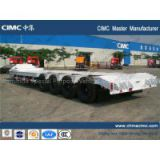 CIMC MASTER Gooseneck type 4 axle lowed semi-trailer heavy duty 4 axle lowed semi-trailer