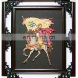 chinese historical figures form The Three Kingdoms photo frame for decoration