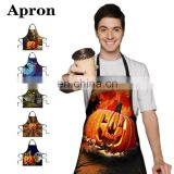 halloween apron with custom design