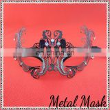 Black metal With diamond Masks