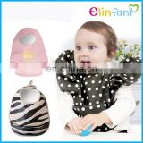 Elinfant new style waterproof PU baby infant bibs baby drool bibs