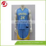 High Quality Sublimation Basketball Jersey Uniform Design