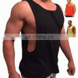 gym Singlets - Good Quality Cotton Men Bodybuilding stringer