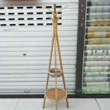 2018 new triangular coat rack, bamboo green and environmentally friendly.