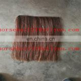 Handmade horse mane hair weftd and wefted rocking horse hair