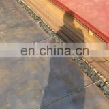 ASTM A572 grade 65 Hot rolled mild steel plate 30mm low-alloy high strength corten steel plate