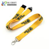 Factory Price Personalized Custom Printing Logo Polyester Neck Lanyards No Minimum Order