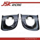 FOR EVO 10 EVO X CARBON FIBER FOG LAMP COVER FOR MITSUBISHI LANCER EVO X EVO 10 (JSK200814)