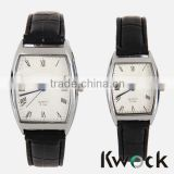 ANALOG LEATHER DRESS COUPLE LOVER PAIR WATCH GIFT