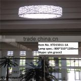 modern deco oval acrylic ball led chandeliers pendant light for hotel home coffee shop bar