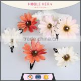 Kids Daisy Hairpin Clip Hair Accessories Grip Barrettes Decorative Flower Headwear