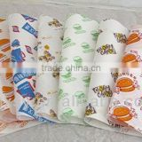 high quality & cheap greaseproof food wrapping paper