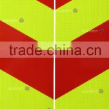 fluorescent yellow-green high intensity prisamtic reflective sheet-Rear-marking plate for vehicles in anhui alsafety